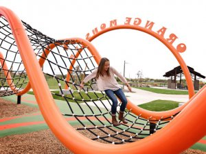 Orange Monster playground