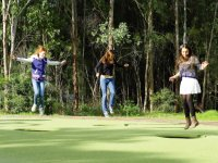 Parramatta Park trampolines