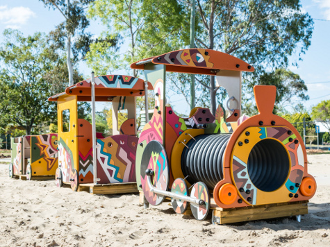 Pittsworth playground equipment