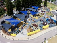Collaroy Beach playground equipment